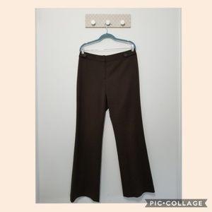 Lafayette 148 New York dress slacks brown size 10